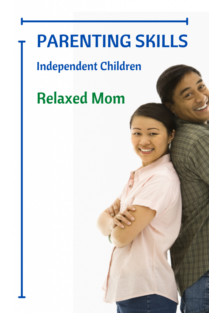 Parenting Skills Independant Children Relaxed Mom Confident Kids